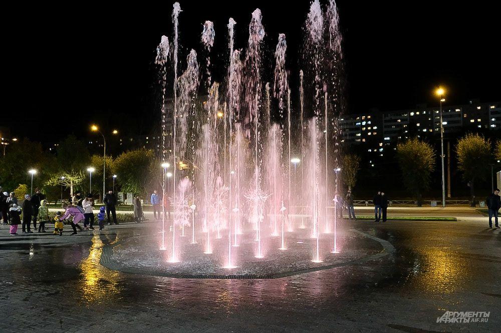 Ежегодно подготовка к запуску фонтана проводится с середины апреля и до 1 мая.