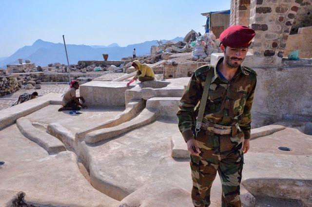 Над столицей Йемена сбили американский беспилотник