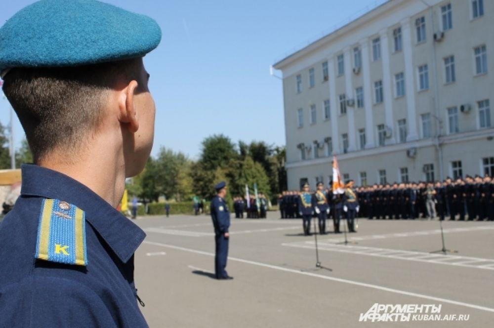 30 сентября в КВВАУЛ прошла торжественная присяга для курсантов-первокурсников.