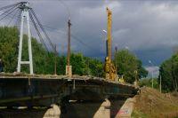 Совмещенный мост в Тюмени пока не открыт