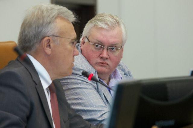 На должности и.о. спикера Заксобрания края Клешко будет до 10 октября.