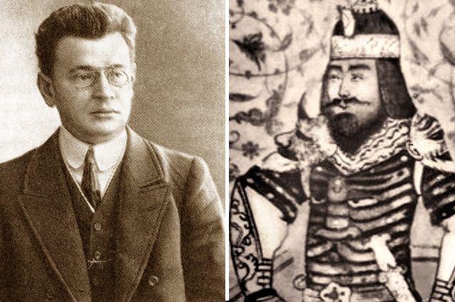 Аркадий Аверченко и Тамерлан.