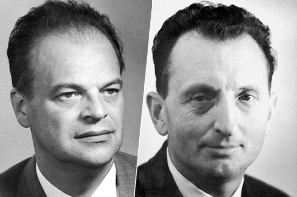 1964 год, Николай Геннадиевич Басов и Александр Михайлович Прохоров. Нобелевская премия по физике «за фундаментальные работы в области квантовой электроники, которые привели к созданию излучателей и усилителей на лазерно-мазерном принципе».