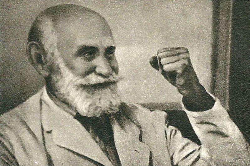 1904 год, Иван Петрович Павлов. Нобелевская премия в области физиологии и медицины «за работу по физиологии пищеварения».