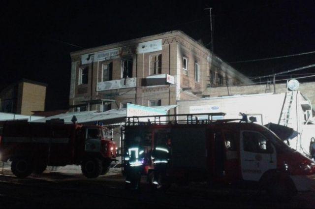Полиция задержала хозяйку сгоревшего хостела в Запорожье