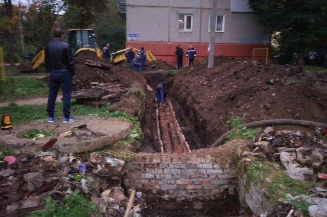 В южной столице Кузбасса произошла авария на водоводе.