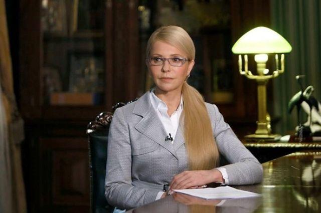 Тимошенко вручили протокол онезаконном пересечении границы государства Украины