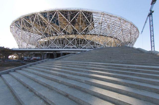 Стадион «Ростов-Арена» будет готов всрок— специалисты FIFA убеждены