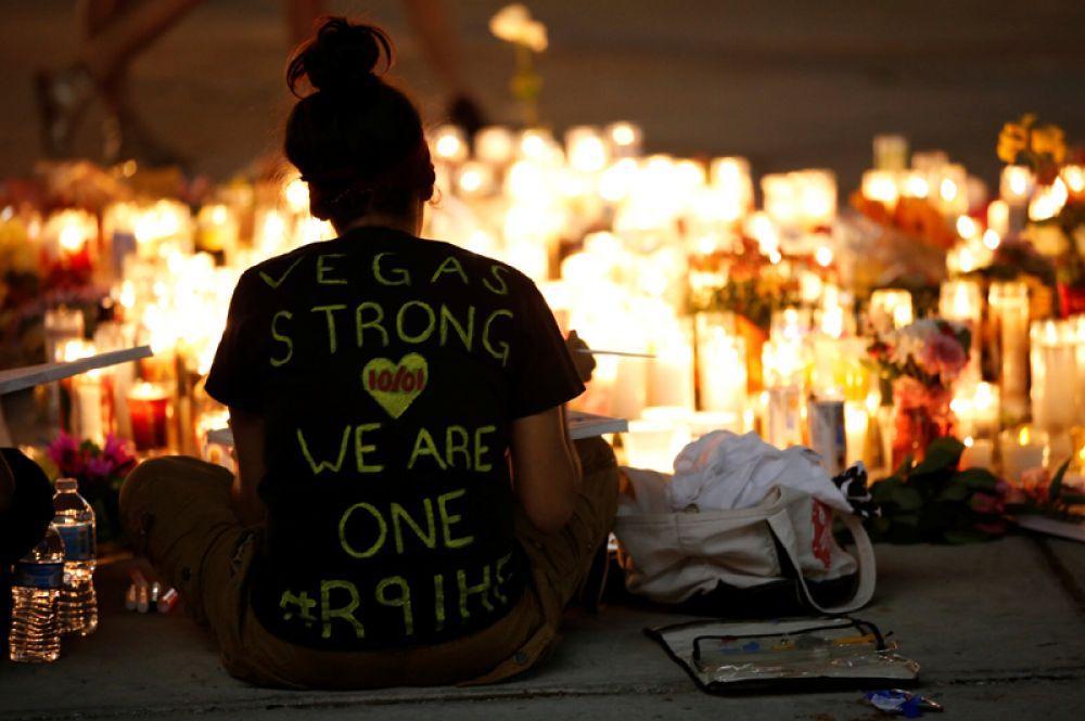 «Лас-Вегас сильный, мы едины».
