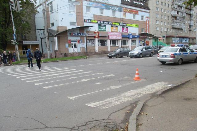 ВЯрославской области под колеса иномарки угодила пенсионерка