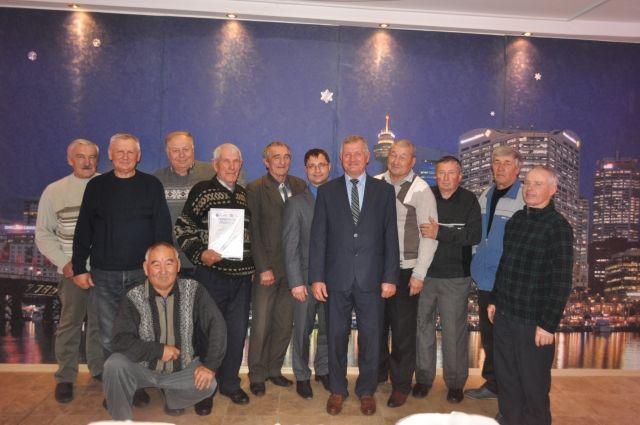 Чествование ветеранов «Омскэнерго» состоялось в 32 районах Омской области.