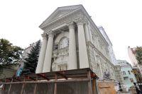 Особняк баронессы фон Рекк реставрировали три года. Работы вот-вот должны закончиться.