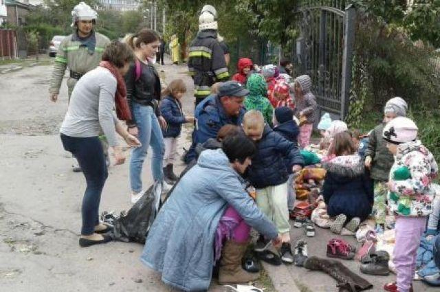 ВоЛьвове горел детский парк
