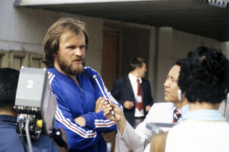 1986 год. Двукратный олимпийский чемпион в метании молота Юрий Седых. В 1986 году на чемпионате Европы в Штутгарте спортсмен установил при броске рекорд 86,74 метров, который не побит до сих пор.