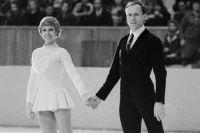 Людмила Белоусова и Олег Протопопов, 1971 г.