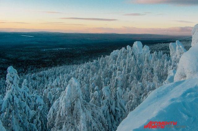 Пермский край занимает 4 позицию в номинации «Российский приключенческий отдых».