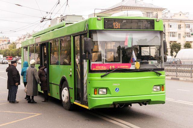 Троллейбуса в Казани пассажиры ждут меньше других видов транспорта.