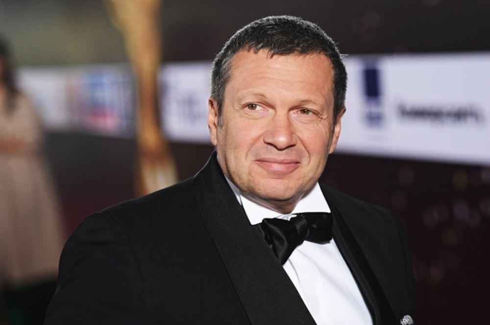 Журналист и телеведущий Владимир Соловьев.