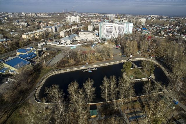 Парк «Изумрудный» в Барнауле