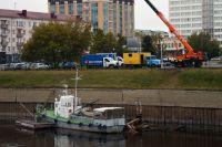 Омский водоканал закончил работы по замене трубопровода, проходящего под руслом Оми.