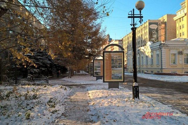 Снег в Омске будет идти до субботы.
