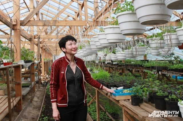 Галина Максимова зарегистрировала крестьянско-фермерское хозяйство около года назад.