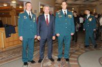 Торжества проходили в Большом зале театра Российской Армии.