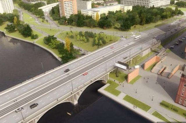 Внимание! Движение поМакаровскому мосту закрывается