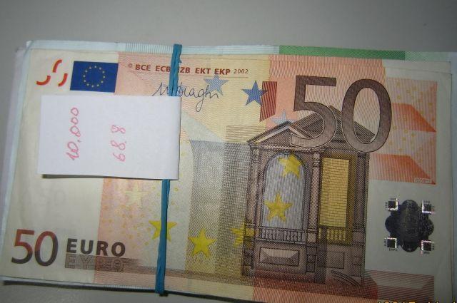 Житель россии пытался вывезти вЛитву около 150 тыс. евро