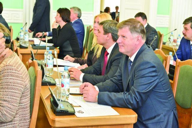 Владимир Корбут был избран председателем горсовета подавляющим большинством голосов.