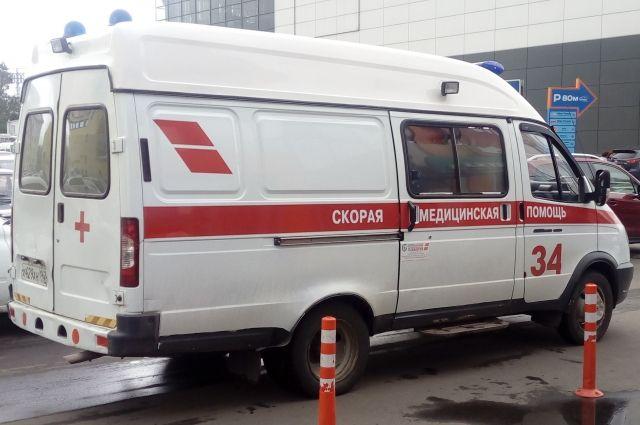 В Кемеровской области с трассы вылетел «Daewoo Matiz».