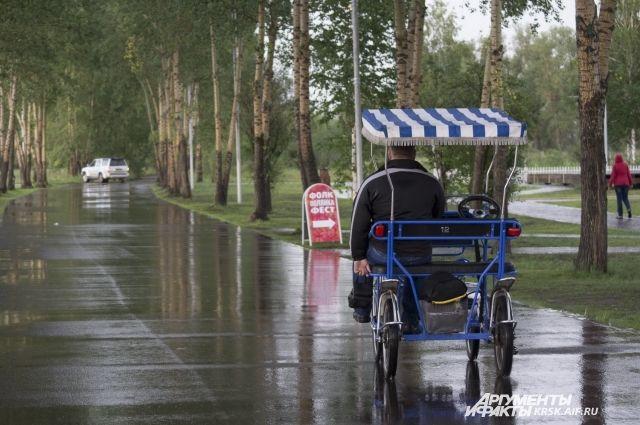 Красноярцы выбрали проект благоустройства острова Татышев