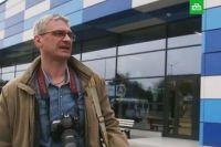 Журналист НТВ Вячеслав Немышев.