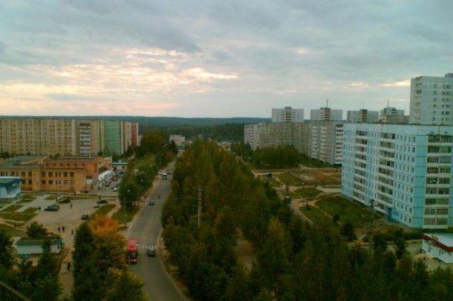 Проспект Металлургов в городе Ярцево.