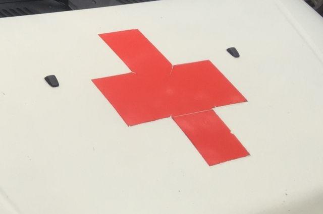 В результате пожара в машине скорой помощи никто не пострадал.