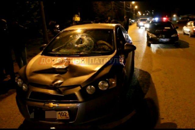 ВБашкирии шофёр Шевроле насмерть сбил пожилого мужчину