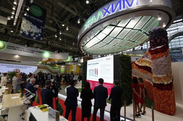 Представленные на выставке продукты отвечают самым передовым мировым стандартам.