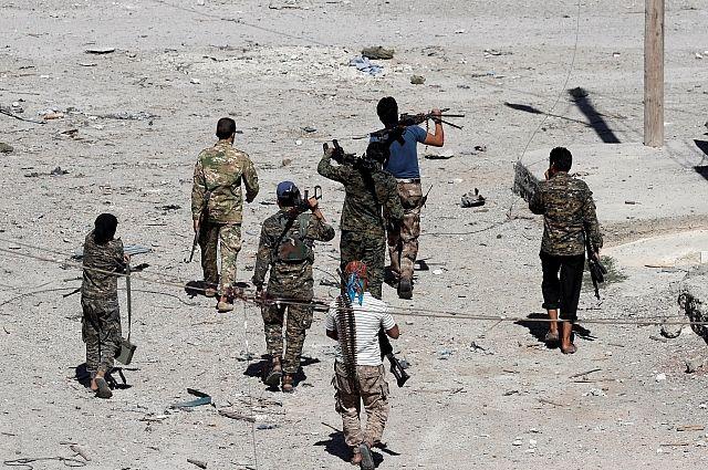 Исламские террористы изэкстремистской группировки используют базу США для вылазок против армии Сирии— МинобороныРФ