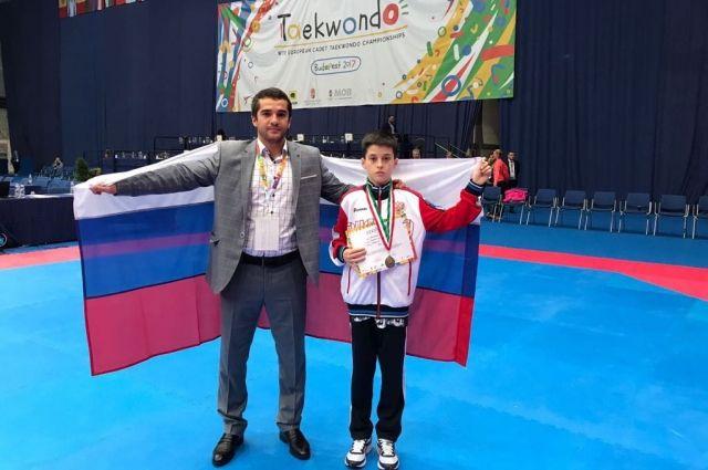 Амран Лиев одержал победу первенство Европы потхэквондо