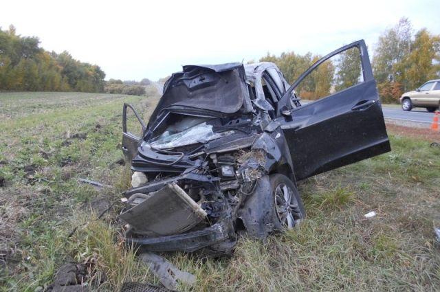 Шофёр иномарки получил смертельную травму вДТП под Тамбовом