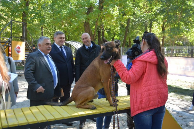 Новый проект благоустройства городской среды реализован в парке имени Николая Островского Первомайского района города.