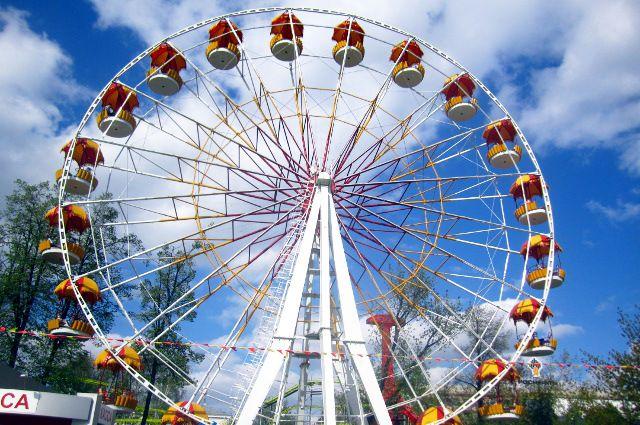 На Цветном бульваре появится новое колесо обозрения