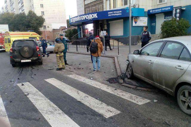 В Тюмени произошло ДТП на улице Малыгина: пострадал один человек