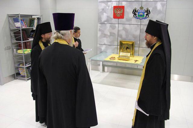 Мощи святого Феофана Затворника привезли в тюменский монастырь