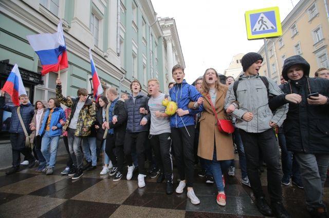 МВД: Все схваченные впроцессе несогласованных акций 7октября уже насвободе