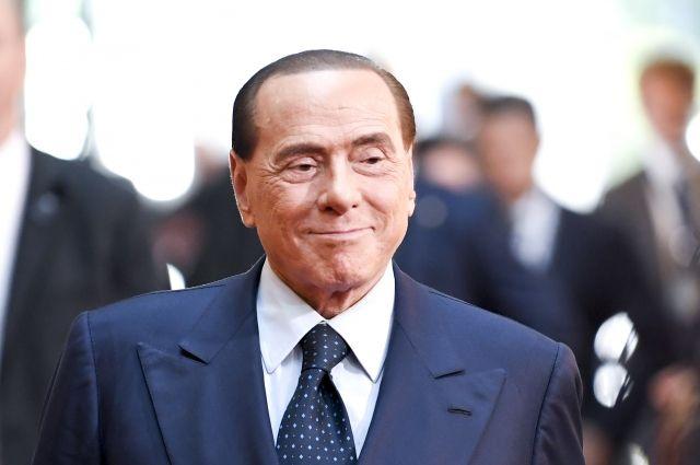 Сильвио Берлускони.