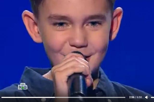 Юный прикамец продолжает покорять публику своим вокалом.