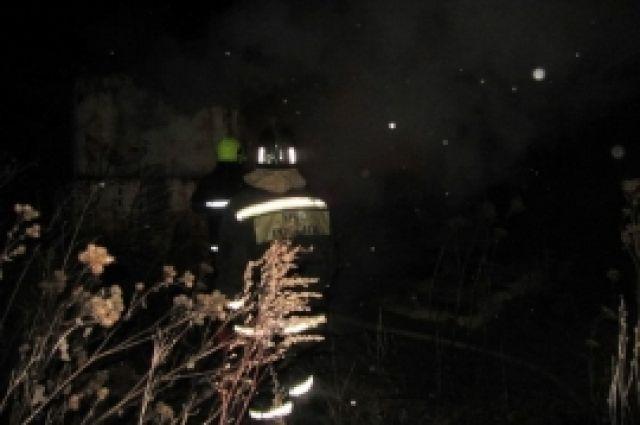 ВТульской области на100% выгорел дом