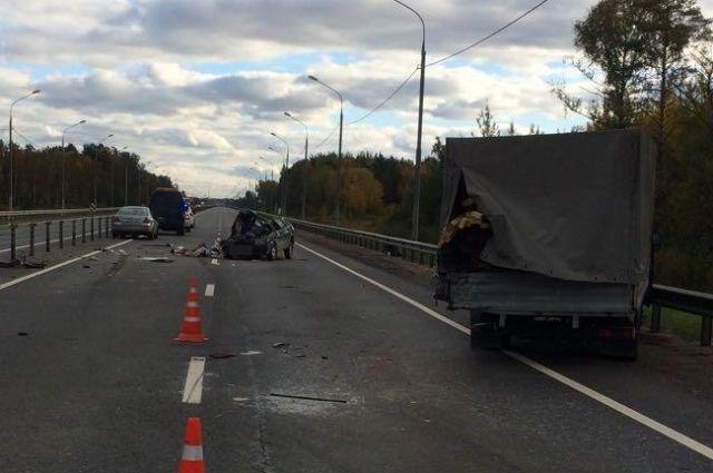 ВТверской области в трагедии погибла женщина-пассажир
