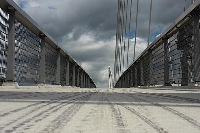 Тюменцы делают прощальные селфи с Совмещенным мостом